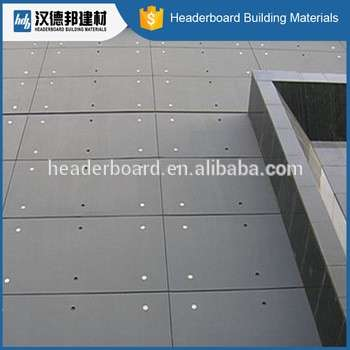 High Quality Fireproof Fiber Cement Board Price Non Asbestos - Fiber flooring prices