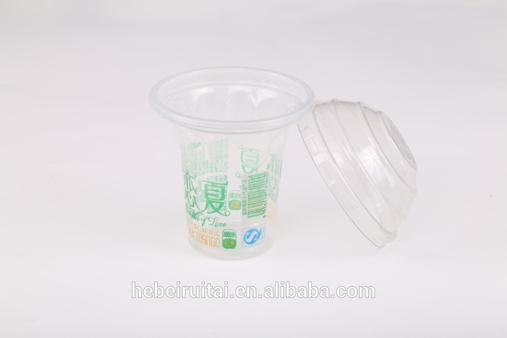 5oz Disposable Biodegradable Bverage Yogurt Ice Cream PP Plastic Cups