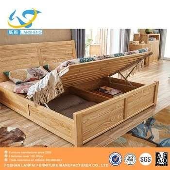 Bedroom Furniture Wooden Box Bed Design Wooden Divan Bed