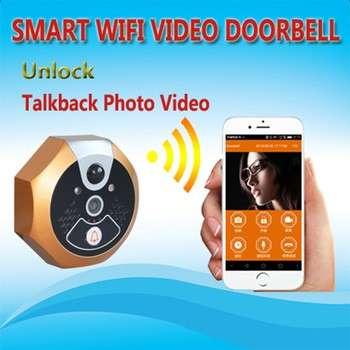 Smart home video door phone for multi apartment doorbell video intercom system