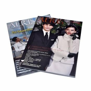 廉价时尚全彩装订A3杂志印刷