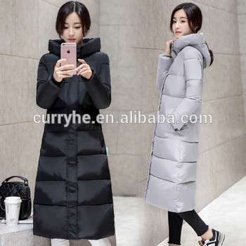 High Quality OEM Service HOT SALE Long Parka Winter Fashion Women Down Jacket Warm Padded Cotton Coat
