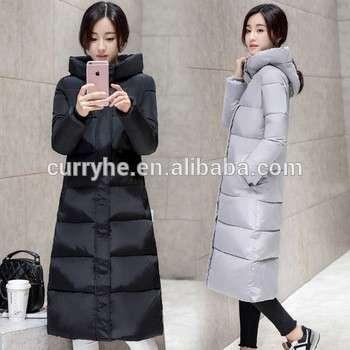 High Quality OEM Service HOT SALE Long Parka Winter Fashion Women Down Jacket Warm Padded Cotton Coat