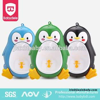 Baby Boy Potty Urinal Toilet Training Bathroom Pee Penguin Baby Urinal
