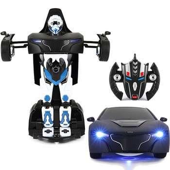 2016新设计的RC机器人对儿童车变形