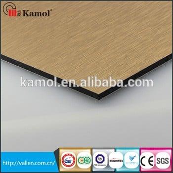 卡莫利PE或防火铝复合板、铝型材