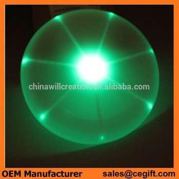 LED闪烁LED户外玩具飞碟在夜晚使用距离15cm、20cm,25cm