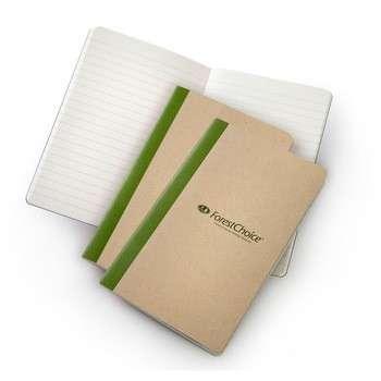 新设计的定制印刷牛皮纸纸笔记本黄页