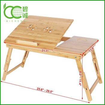 竹制折叠笔记本架
