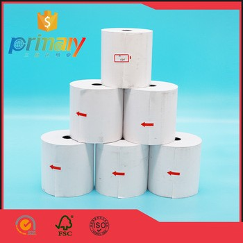 Hangzhou Self Adhesive Labels On Coated Thermal Paper ( Thermo Top ) Plastic Core Mak... Tape Rolls