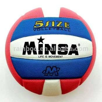 批发廉价价格定制印刷官方大小5软PU皮革排球