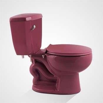 Economic Porcelain Eddy Flush Colored Sanitary Ware Ceramic Toilet Bowl