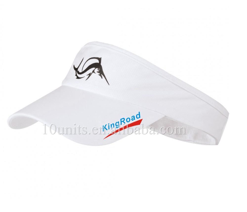 ce325b69c26 Wholesale Custom Printed Running Sun Visor Running Caps