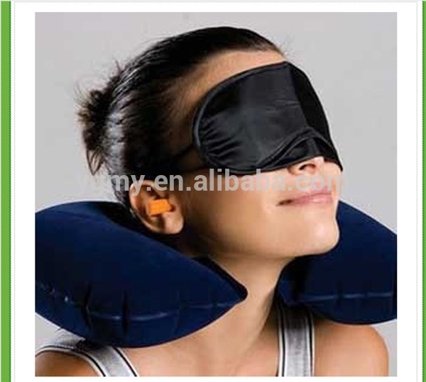 旅行包3 1充气枕头+眼罩面罩眼罩+耳塞旅游