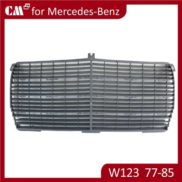 Car Parts Front Grill For Mercedes Benz W123 With Mesh 77-85