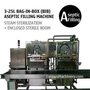 3-25l双头盒中袋灌装机的无菌产品的无菌灌装围兜