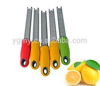 热销售奶酪削皮器微平面刨柠檬削皮器用于柑橘难姜肉桂植物&香料
