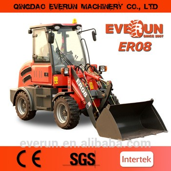 Everun Brand CE Approved Agricultural Machinery 0.8Ton Front End Loader