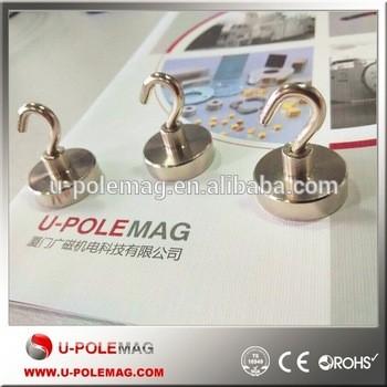 d25mm 200n钩与钩锅强磁铁,磁铁,钕磁钩