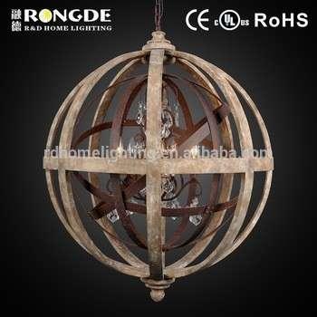 D8001-5 american style wood chandelier