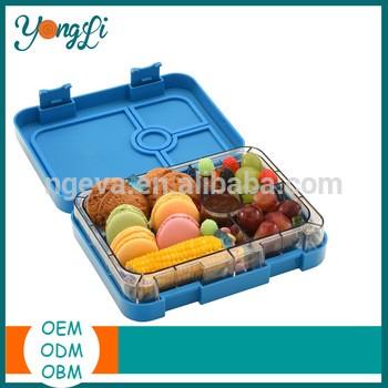 便当式的午餐解决方案提供了持久的便当饭盒防漏