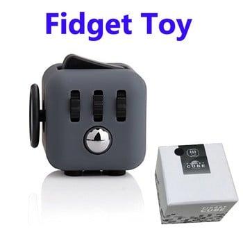 6台坐立不安玩具抗应激的立方体的成人和儿童