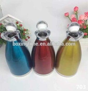 不锈钢1.5升热水瓶不同颜色的咖啡壶