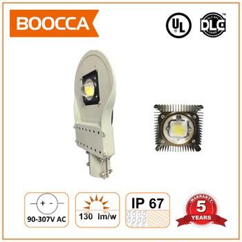 高功率运动传感器12v CE ROHS UL防水COB 100W的太阳能LED路灯