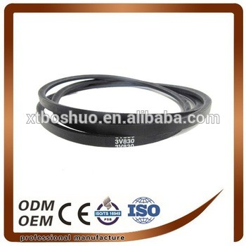 Durable rubber v belt ,agriculture v belt , v belt with C type