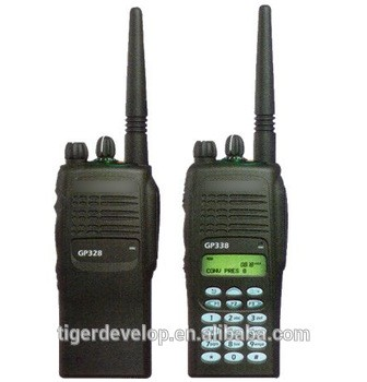 16channels 5w For Motorola GP338 Vhf Uhf Handheld Walkie Talkie