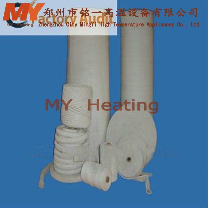 MingYi 1200 High Temperature Oil Resistant Ceramic Fiber Yarn For ...