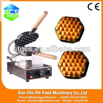 商业使用110V/220V电动不锈钢蛋松饼机,鸡蛋仔