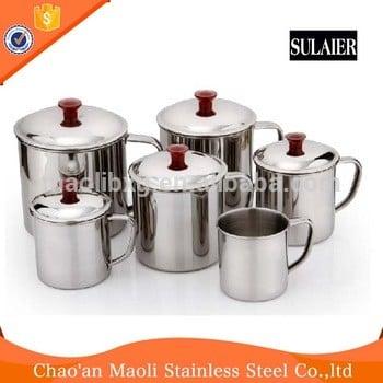 热售高品质不锈钢热水杯