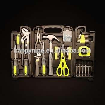 塑料盒89pcs手工具集包含了螺丝刀和菲利普斯家用工具集