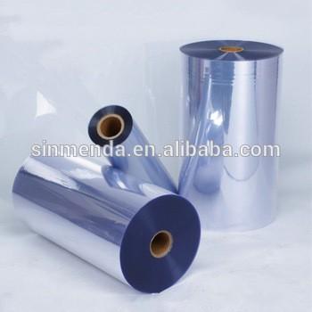 透明硬质PVC薄膜,透明塑料膜辊加热成型和真空成型