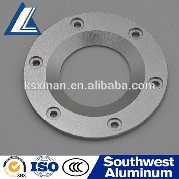 Customized All kinds of Aluminium Pipe Fittings Flange