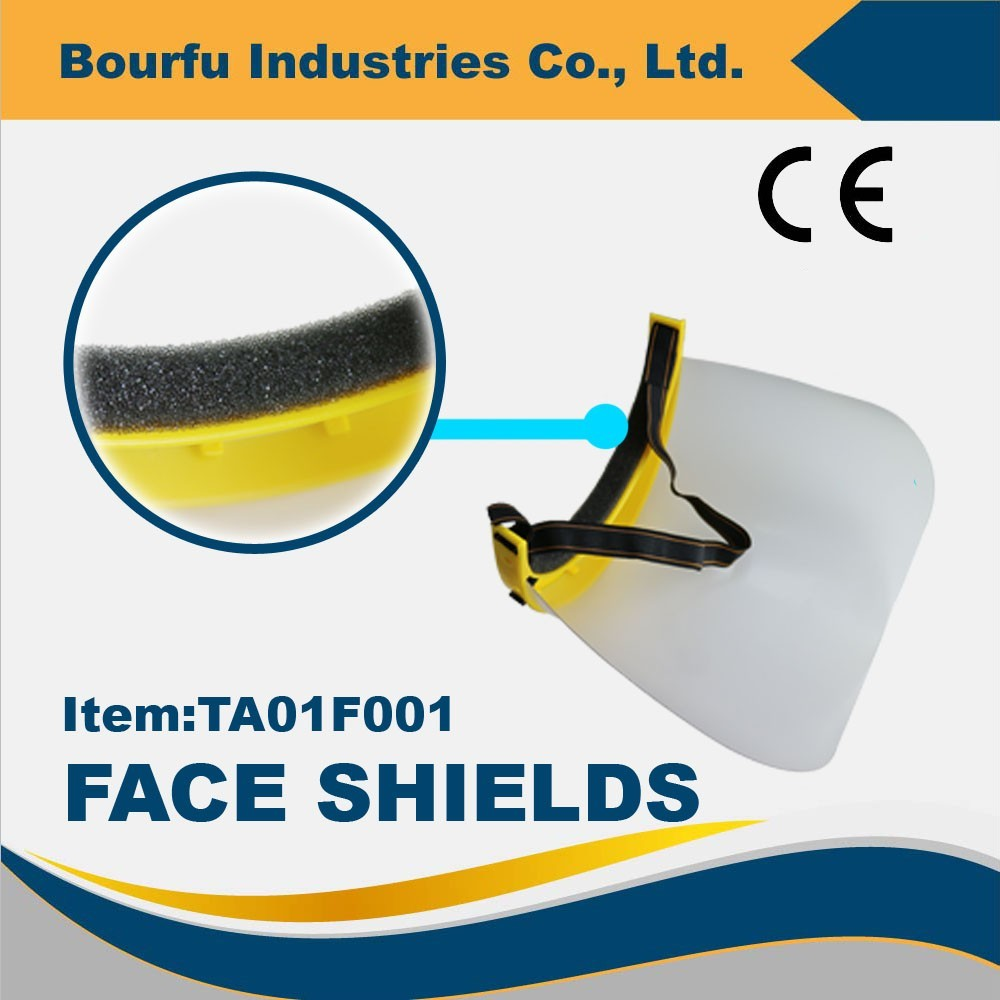 Dustproof Face Shield For Workplace Safety Supplies
