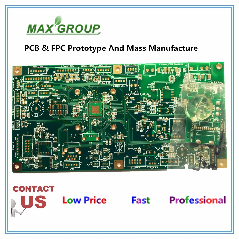 Fiberglass Experimento Printed Circuit Board China 02 Oz Fr4 Double Sided Pcb 2layer Boards Fabrication Of With 16mm Thickness 2 Layer