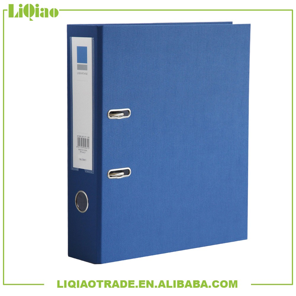 """A4/FC 3"""" Economical classical PP lever arch file for office"""