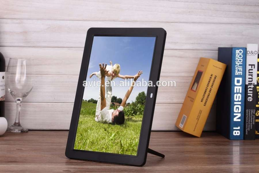 Avic 17 Inch Full Hd 1080p Digital Photo Frame Ultra Slim Gift