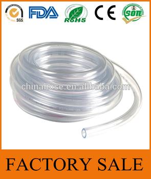 慈溪金冠紫外透明PVC水管,3/8号×1/2 OD液态水管水冷却系统,透明的塑料透明软管