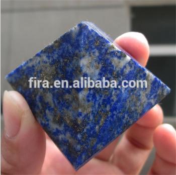 Natural Lapis Lazuli Crystal Pyramid Reiki Healing Pyramid