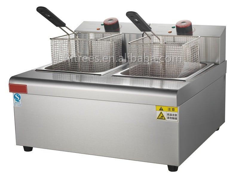 2017 Hot Sale Commerical Electric Automatic Basket Lift 12L Countertop Deep Fryer