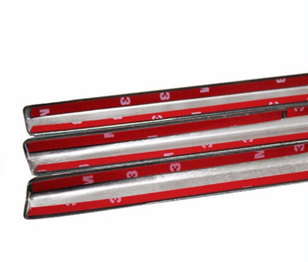 热出售汽车造型不锈钢全窗装饰装饰条宝马X1汽车外部配件与列