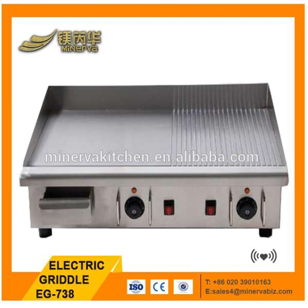 Food & Beverage/commercial kitchen equipment/stainless steel/catering electric grill/griddle for sale