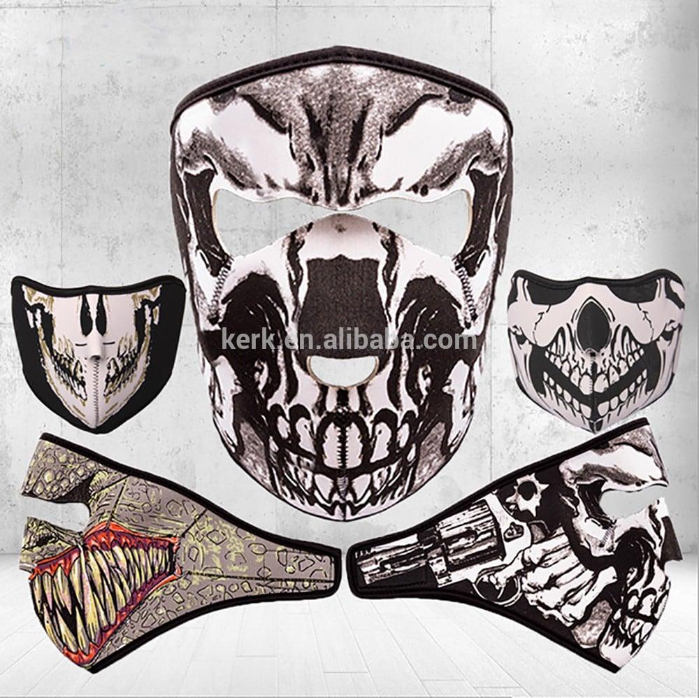 透气面罩运动摩托车防护装备面罩