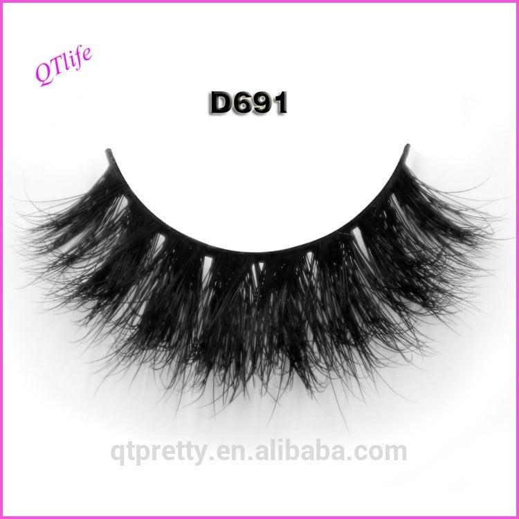 Wholesale Natural 3d Mink False Eyelashes Manufacturer Indonesia
