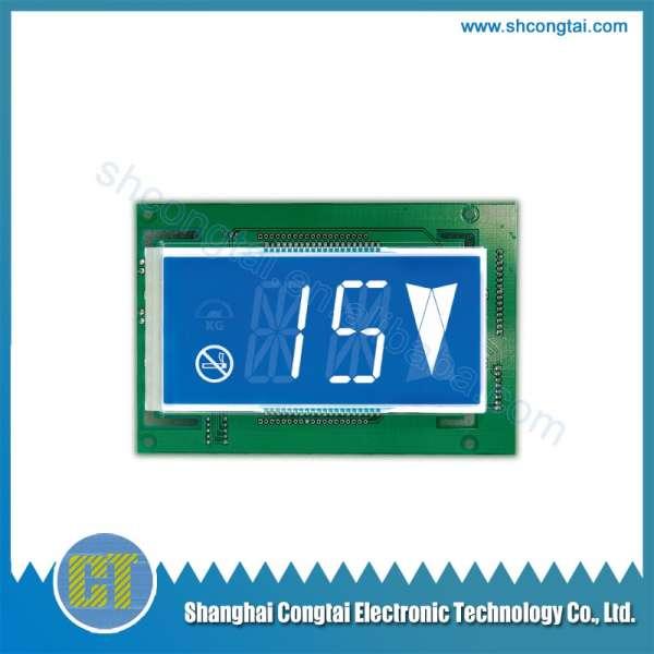 Elevator Parts,Elevator Dot Matrix LCD Display,BVH411A