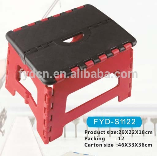 Peachy 29 22 18Cm Plastic Foldable Folding Step Stool Home Kitchen Andrewgaddart Wooden Chair Designs For Living Room Andrewgaddartcom