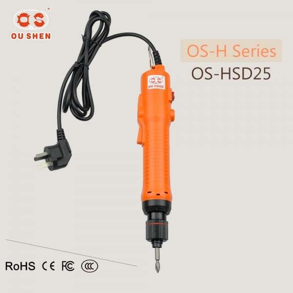os-hsd25 H1 / 4碳刷更换全自动可调扭矩电动螺丝刀没有AC220V电源控制器